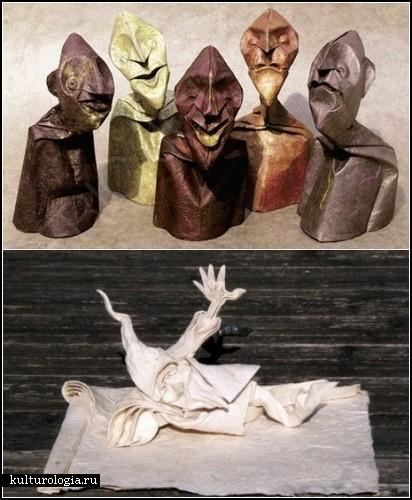 Фигурки-оригами от Эрика Джойселя (Eric Joisel)