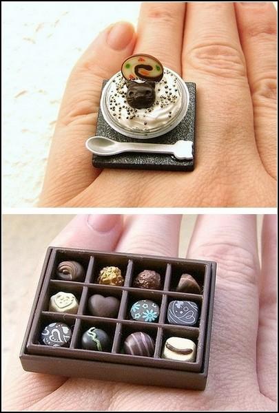 Аппетитные кольца от SouZouCreations