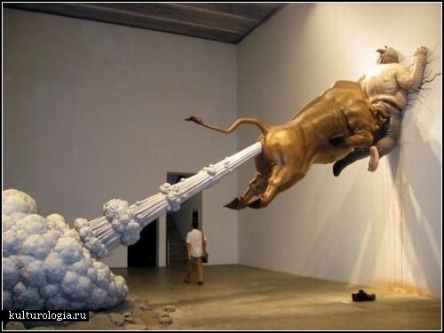 The Big Golden Farting Bull. Раздавленные мировой экономикой