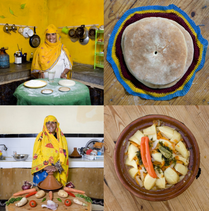 Вкусности бабушек из Марокко. Арт-проект Delicatessen with Love от Габриэле Глимберти (Gabriele Galimberti)