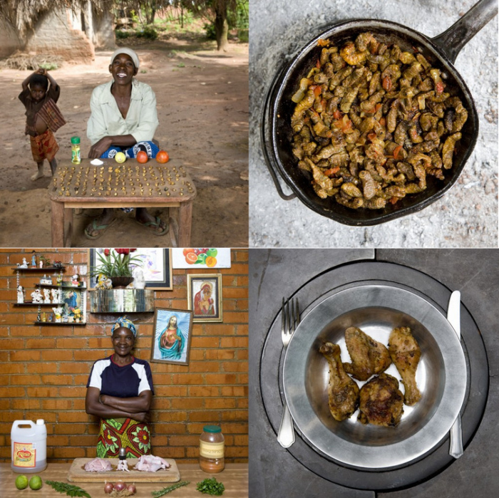 Малави и Замбия. Бабушкины вкусности в арт-проекте Габриэле Глимберти (Gabriele Galimberti)