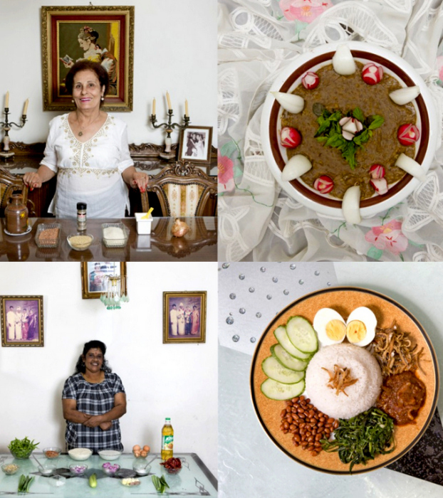 Бабушкины вкусности из Ливана и Малайзии в арт-проекте Delicatessen with Love