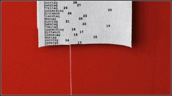 В'язаний календар Патріка Фрея