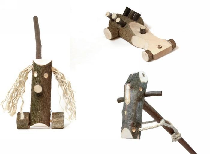 Happy Toys, забавные деревянные игрушки родом из детства