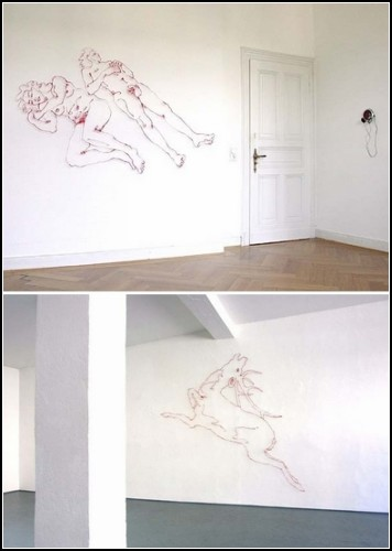 Необычные инсталляции Хайке Вебер (Heike Weber)