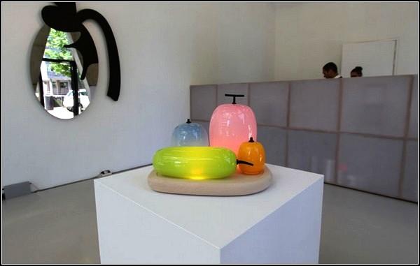 Стеклянные арт-светильники из коллекции Fruits