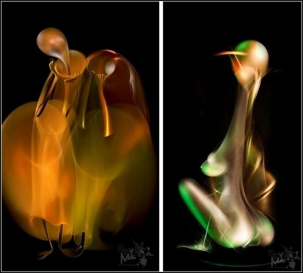Шедевры светографики от тандема Hory Ma