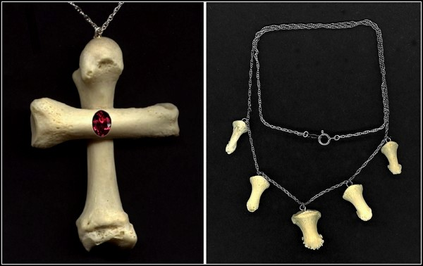 Churchyard Line, серия ювелирных украшений из человеческих костей