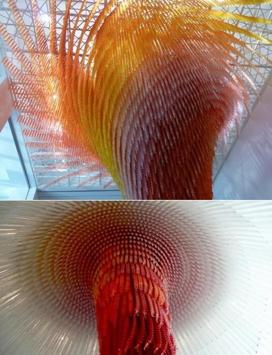 Глубокомысленные инсталляции художника Ду Ху Са ( Do Ho Suh)