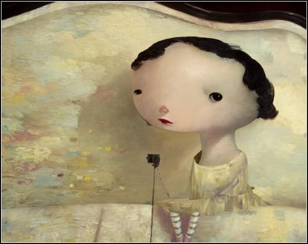 Невзрослеющие дети в картинах Джо Соррена (Joe Sorren)
