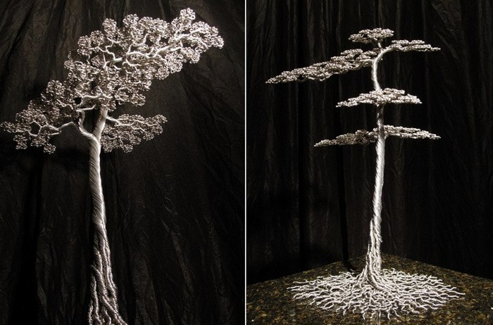 Алюминиевые деревья скульптуры из