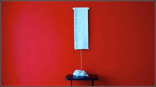 Вязаный проект на 12 месяцев: шарф-календарь Gregor Calendar