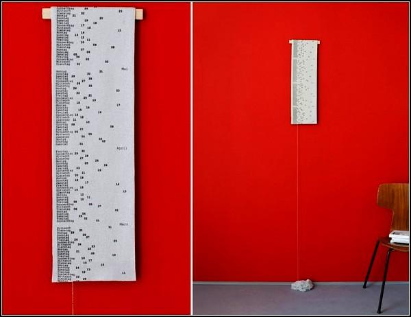 В'язаний календар від дизайнера Patrick Frey