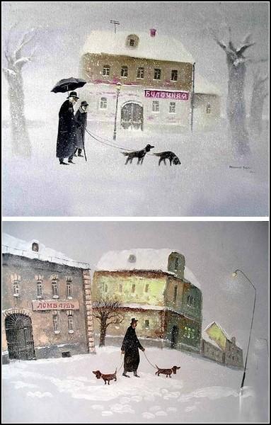 *Колбаскин и другие*. Картины Андрея Репникова