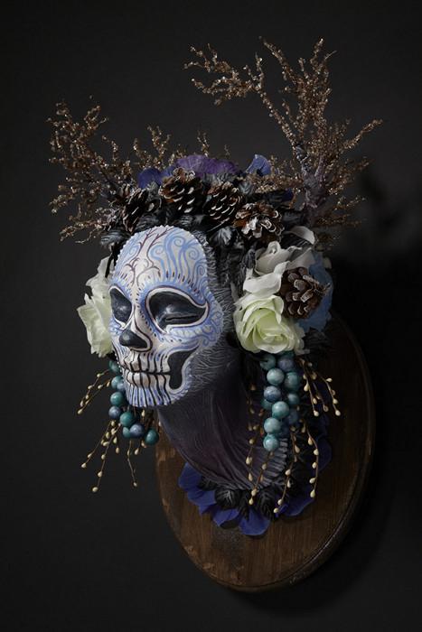 Зимняя маска-скульптура Winter Muertita из серии Four Seasons