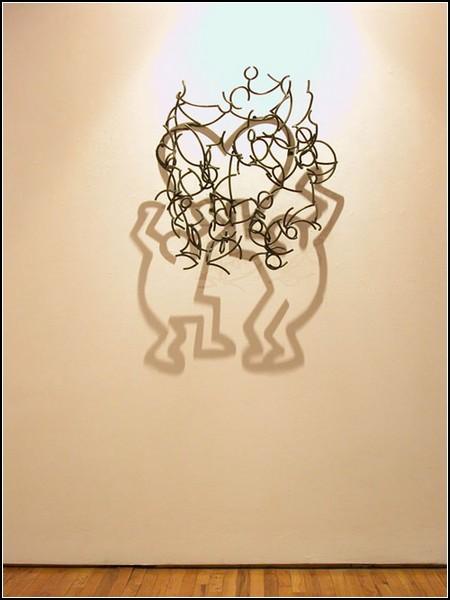Проволока, свет и тень в творчестве Ларри Кагана (Larry Kagan)