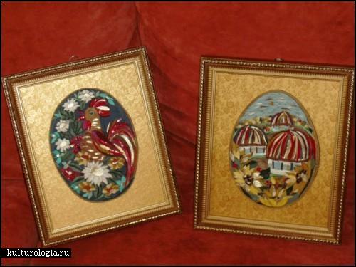 Кожаные картины украинской художницы