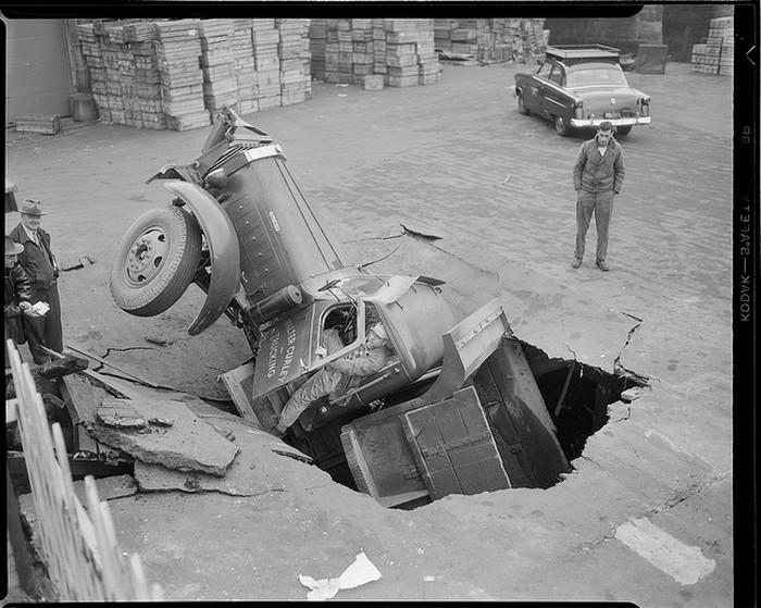 Аварии из прошлого, серия фотографий Лесли Джонса (Leslie Jones)