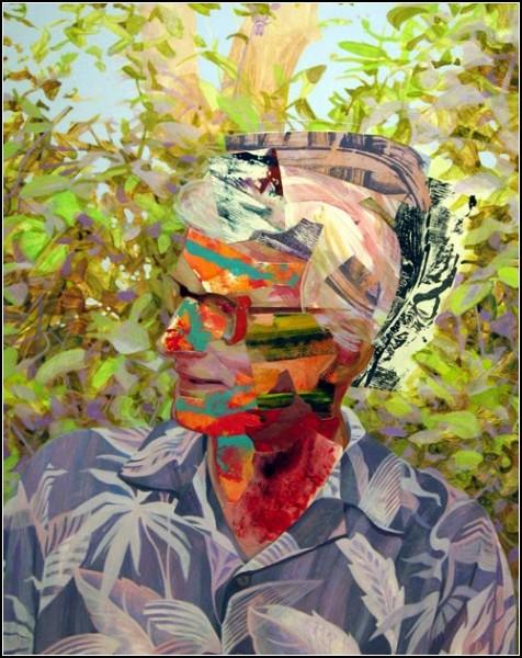 Картины-коллажи Мэри Лу Желязны (Mary Lou Zelazny)