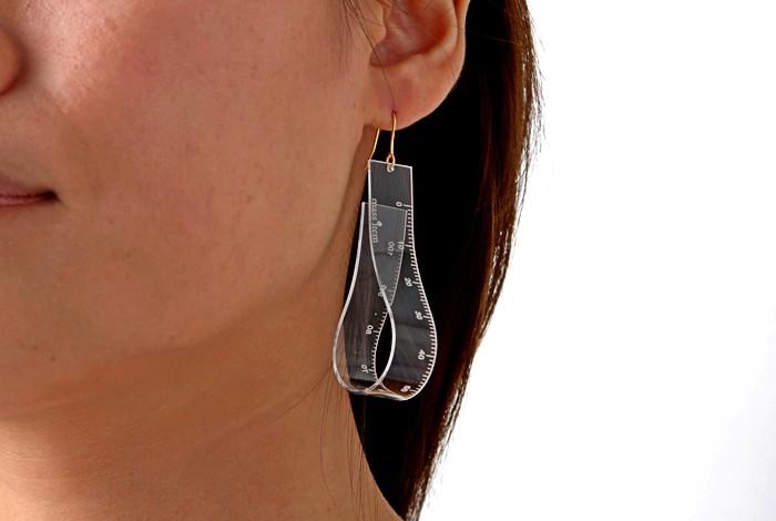 Серия дизайнерских украшений называется Measuring, и... Необычные украшения для...