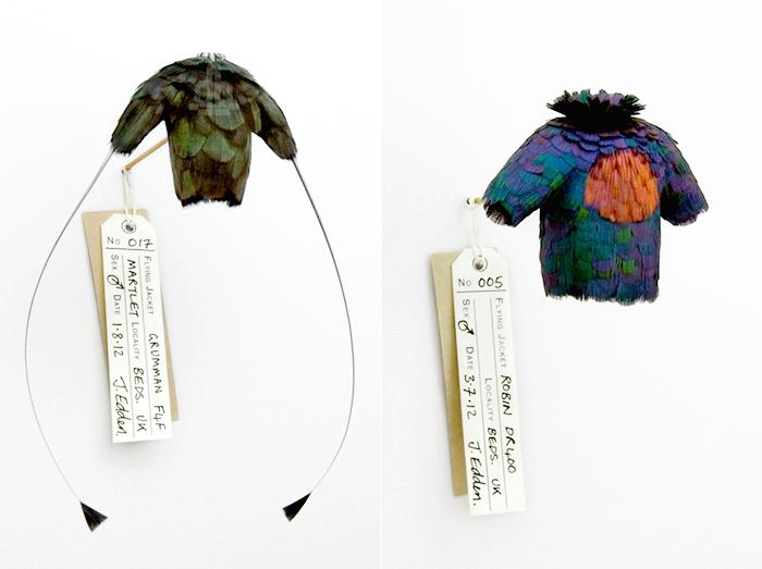 Feather Jackets: модные мини-курточки из пуха и перьев