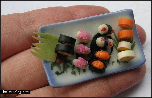 Еда в миниатюре