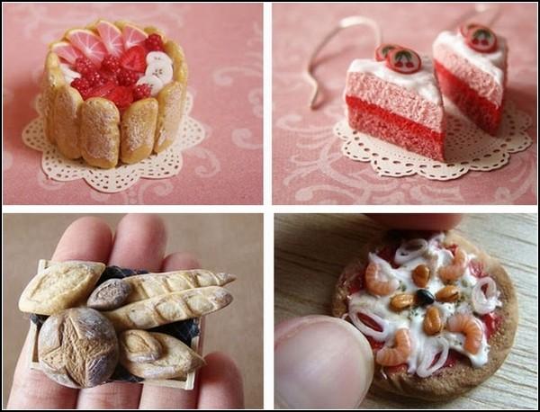 Аппетитные мини-скульптурки Petit Plats от Kushu