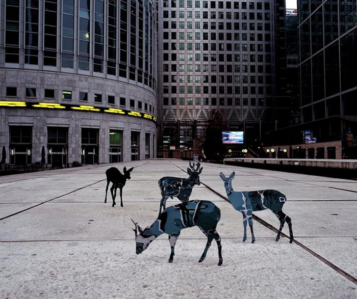 Mirrored, зеркальные скульптуры-инсталляции от Maslen & Mehra