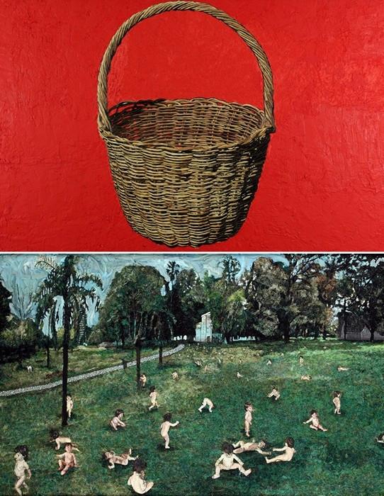 Картины из расплавленного пластилина от арт-коллектива Mondongo
