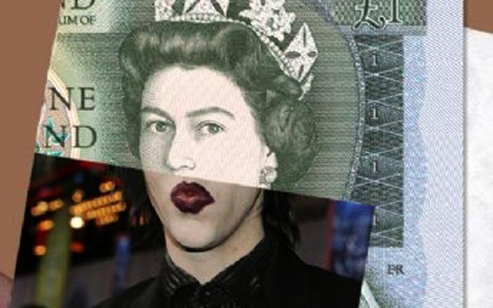 Мэрилин Мэнсон на банкноте