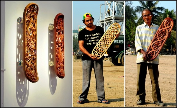 Резные арт-скейты от Тобиаса Мегерле (Tobias Megerle)