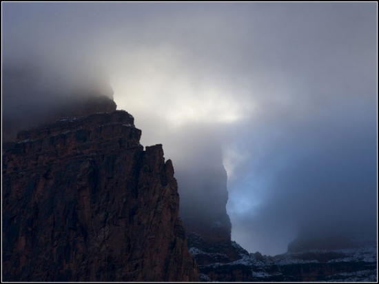 Storm Clouds, Grand Canyon National Park
