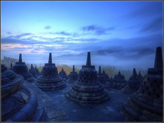 Temple of Borobudur, Indonesia