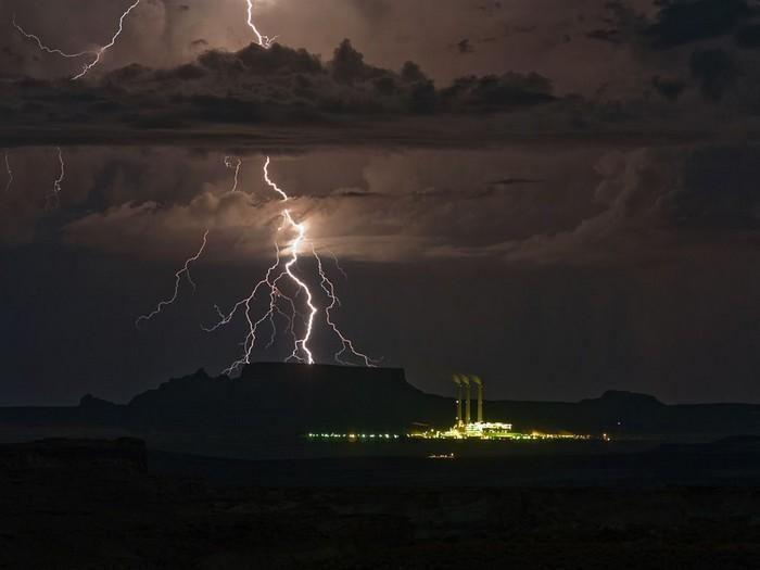 Lightning, Utah-Arizona Border