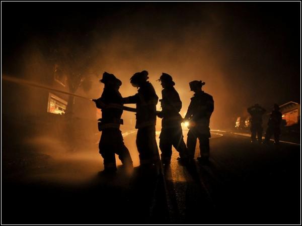 Firemen, California