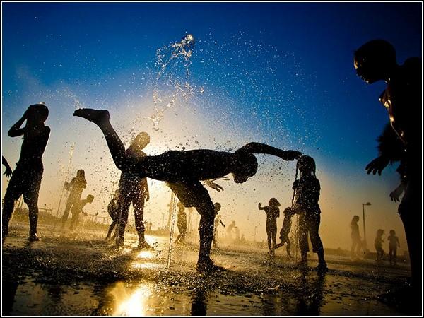 Fountain, Tel Aviv