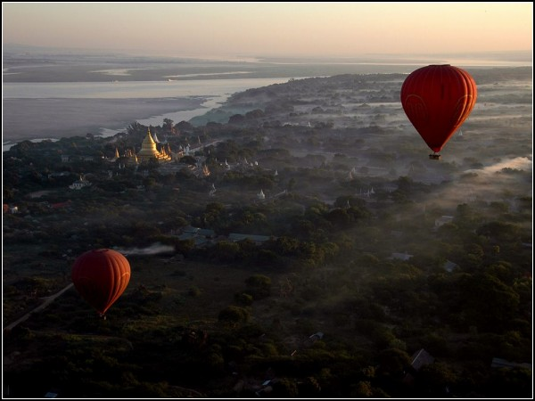 Balloon Flight, Bagan