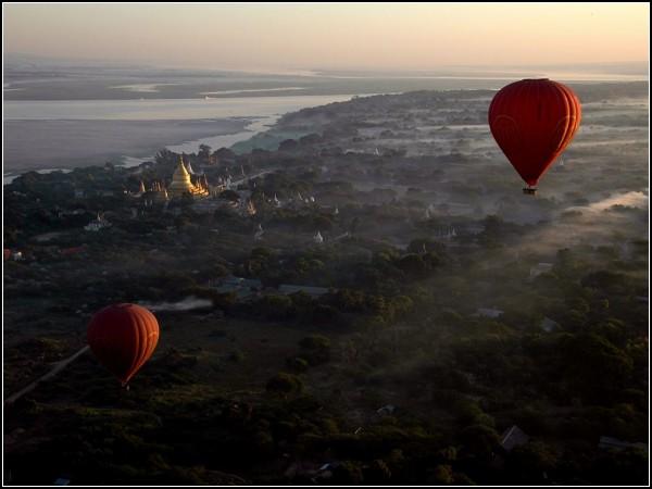 Balloon Flight, Bagan