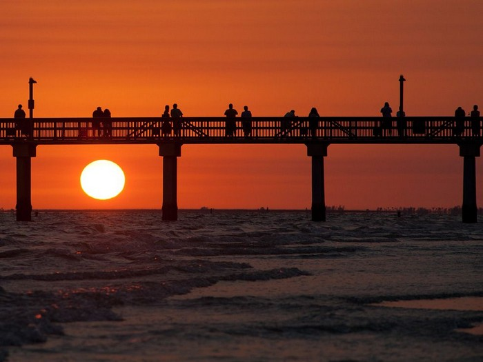 Sunset, Fort Myers Beach, Florida