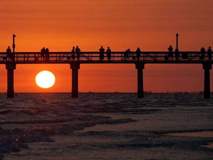 Sunset, Fort Myers Beach, Florida
