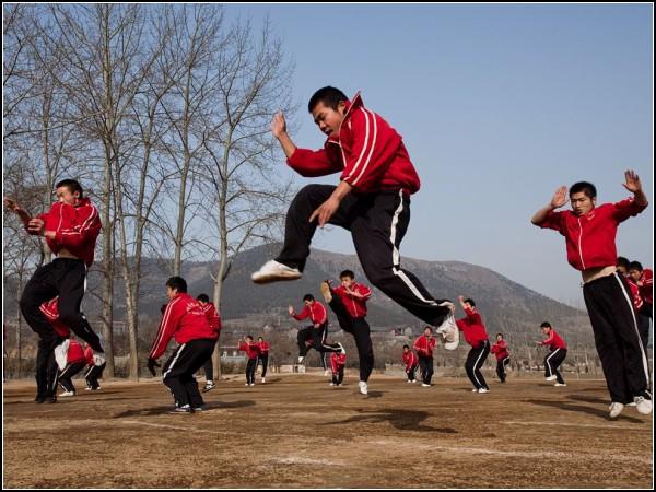 Kung Fu Students, China