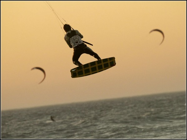 Kite Surfer, South Africa