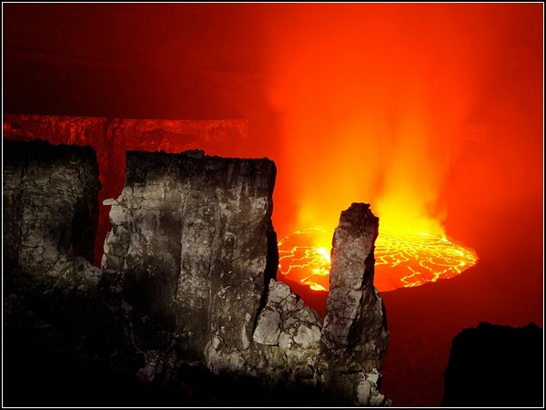 Nyiragongo Lava, Congo