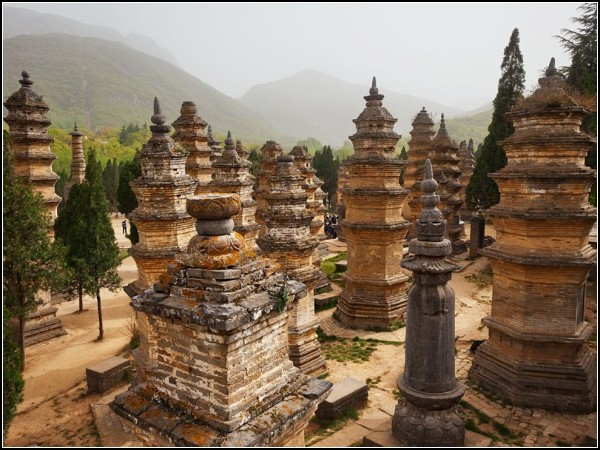 Pagoda Forest, China