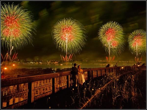 Fireworks, New York City