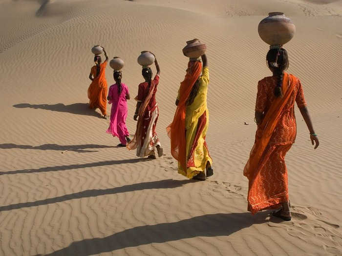 Desert Crossing, Rajasthan, India