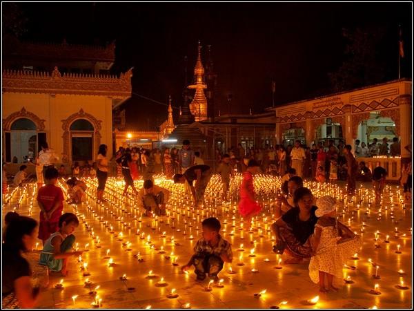 Festival of Lights, Myanmar