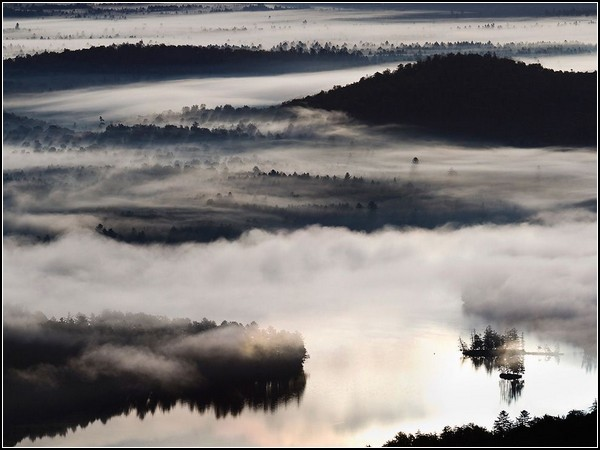 Morning Fog, Adirondacks