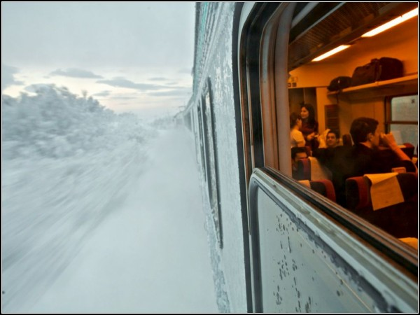Train Trip, Sweden
