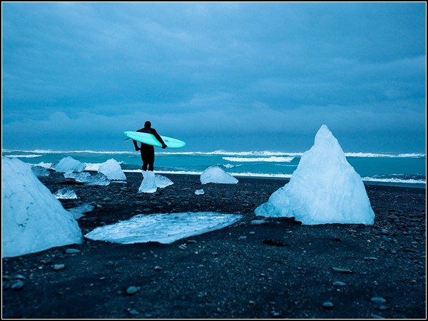 Cold Water Surfing, Iceland